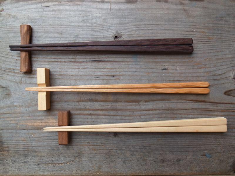 【終了】箸と箸置き